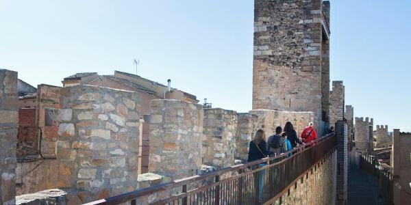 Montblanc - Stadtmauer