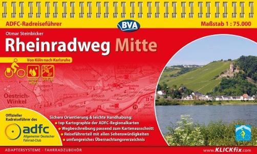 Rheinradweg Mitte