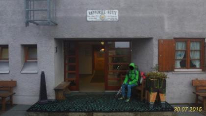 Eingangsbereich der Rappensee-Huette