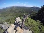 Foto Aussicht vom Aussichtsfelsen zwischen dem unteren und dem oberen Teil der Häntzschelstiege