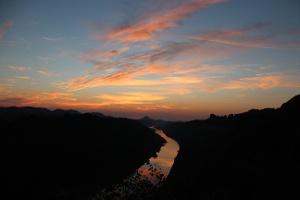Foto Abendstimmung an der Kleinen Bastei bei Schmilka