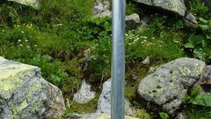 Wegweiser an Kasseler Hütte