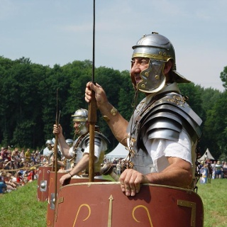 Die Varus-Schlacht: Alle zwei Jahre finden die Römer- und Germanentage statt