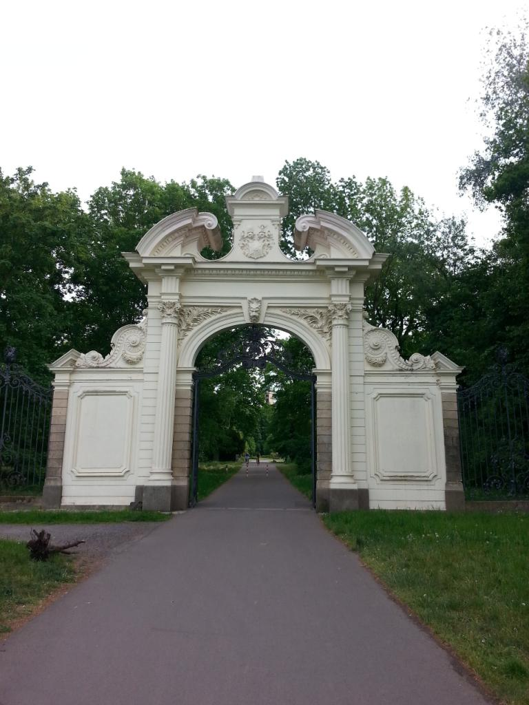 Lutherweg Adlertor Keesscher Park Markkleeberg