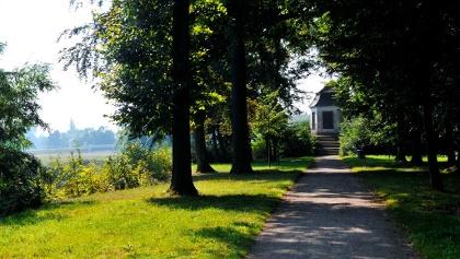 Lutherweg Schlosspark Trebsen