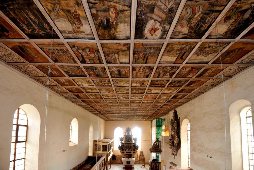 Lutherweg Dorfkirche Löbnitz