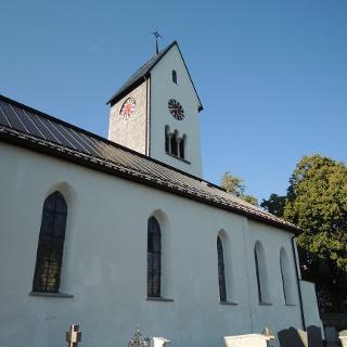 Die Kirche St. Blasius in Diepolz