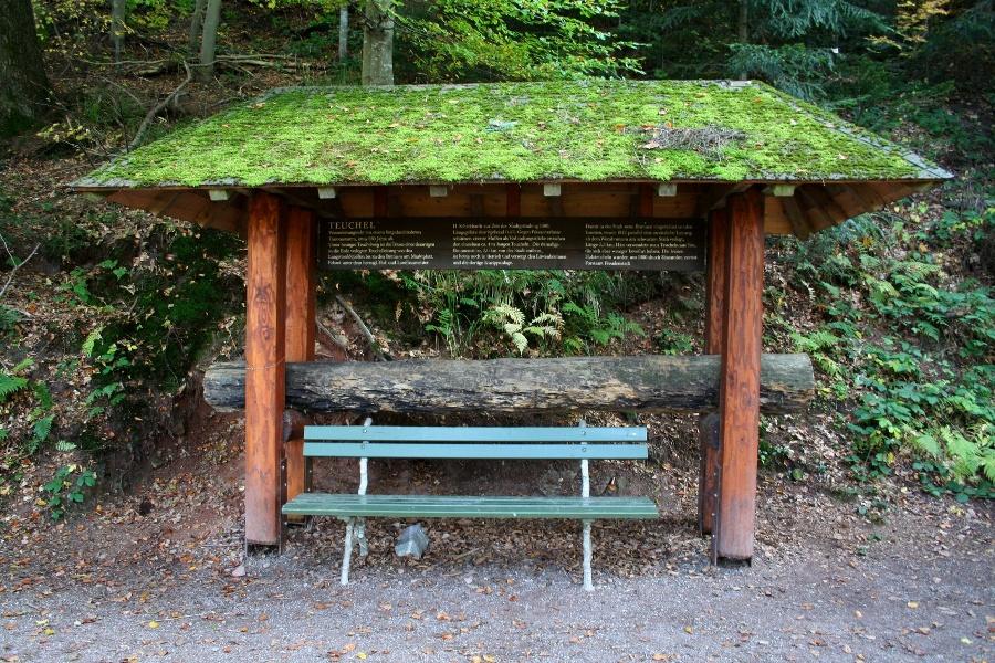 Freudenstadt WaldGeschichtsPfad - Auf den Spuren alter Waldberufe