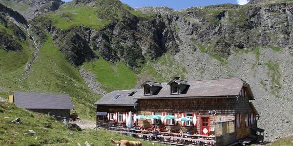Keinprechthütte in Obertal valley