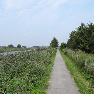 Radweg am Kanal