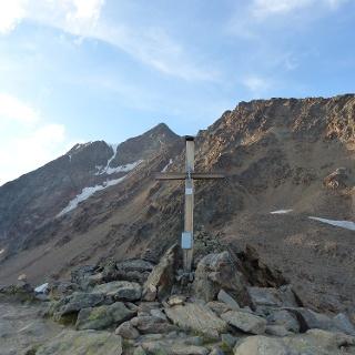 Am Ziel auf 3140 m.