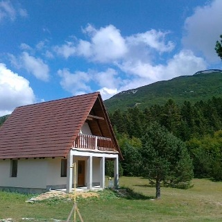Holiday house at Vran mountain