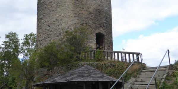 Veste Kollnburg (Burgfried)