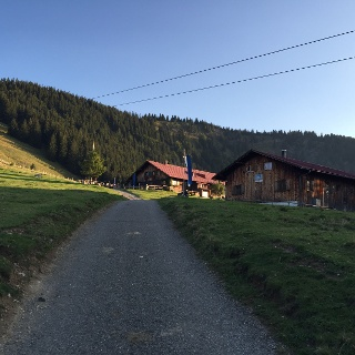 View from Alpe Obere Kalle