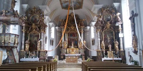 Pfarrkirche Mariä Geburt Wartenberg