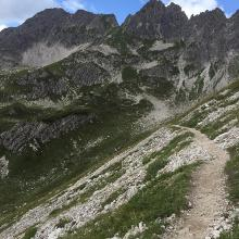 Richtung Geißhorn