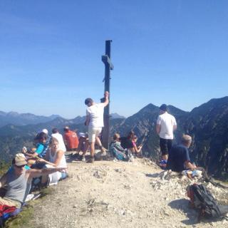 Der Gipfel des Schildenstein