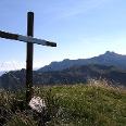 """Die """"stille"""" Eiskönigspitze, 1871 m, empfängt uns mit prachtvoller Rund um Sicht!"""