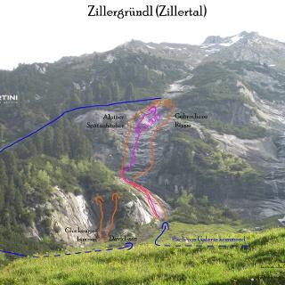 Topo Pink 2015, Alpiner Spätaufsteher, Gebrochene Rippe - Zillertal