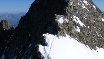 Von der Spalla (4020m) zum Piz Bernina (4049m)