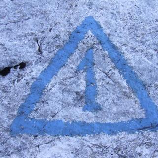 Symbol des Höhenwegs