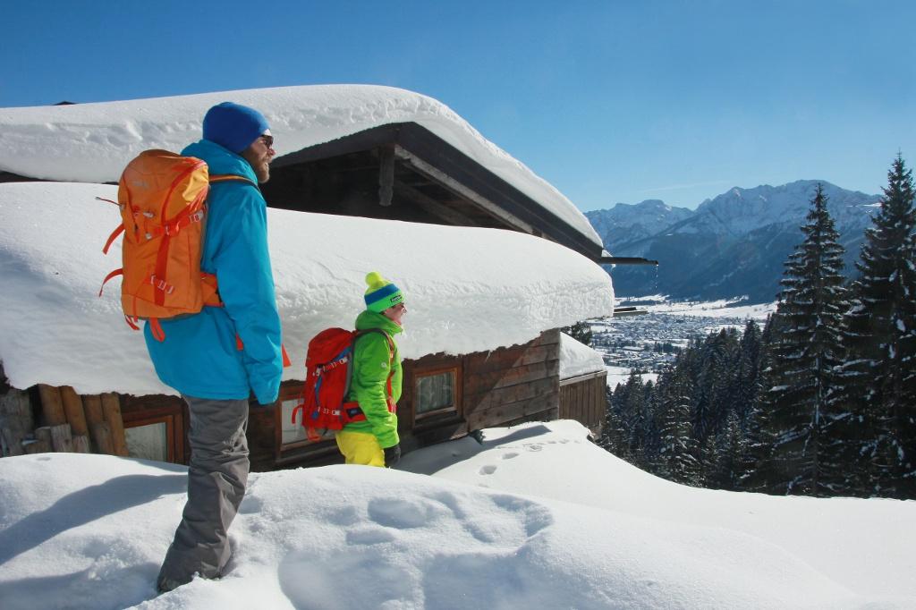 Winterwanderung zur Hündeleskopfhütte - @ Autor: Johannes Babel - © Quelle: Pfronten Tourismus