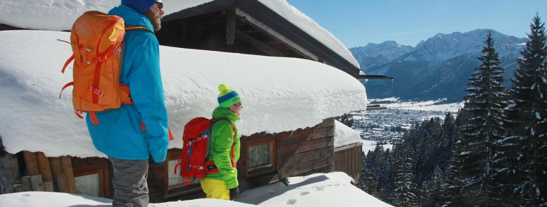 Winterwanderung zur Hündeleskopfhütte