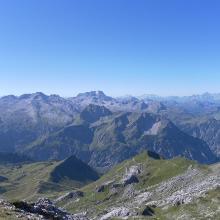 Ausblick von der Hochkünzelspitze