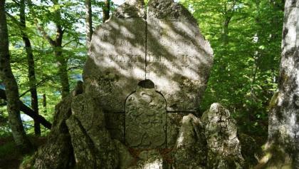 Gedenkstein  Burg Hohenschwangau zum Frauenstein