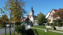 Wanderung: Markt Bibart - Ingolstadt - Markt Nordheim