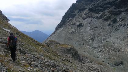 Anstiegsweg des Monte delle Forbici