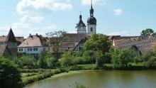 Tourenplanung : Abtswind - Ilmbach - Altenschönbach - Prichsenstadt