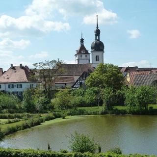 Blick auf Prichsenstadt
