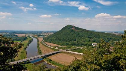 Zwischen Weser- und Wiehengebirge: die Porta Westfalica wurde 2006 als nationales Geotop ausgezeichnet