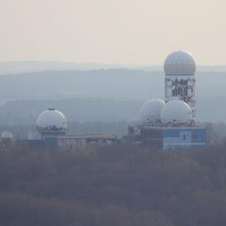 Berlin's Listening Tower on top of Teufelsberg
