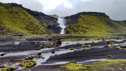 Wasserfall Ófærufoss