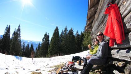 Schneeschuhwanderung Hinteres Hörnle Großer Aufacker