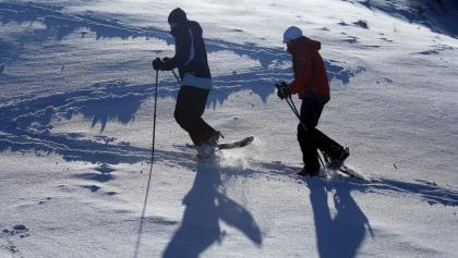 Schneeschuhwanderung Hohe Bleick