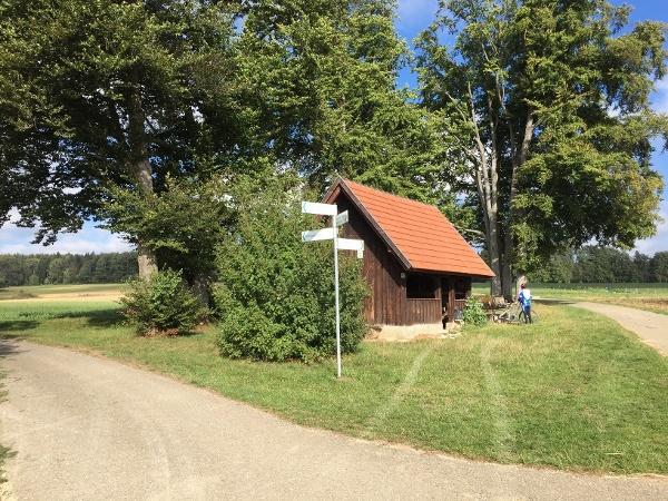 Grillplatz mit Wanderhütte Schwende