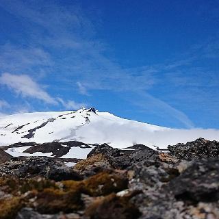 Unterhalb des Snaesfellsjökull