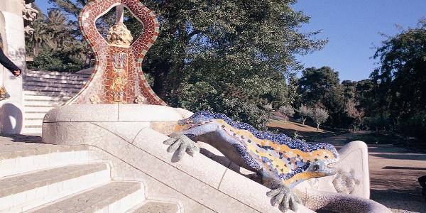 Barcelona - Park Güell, Drache