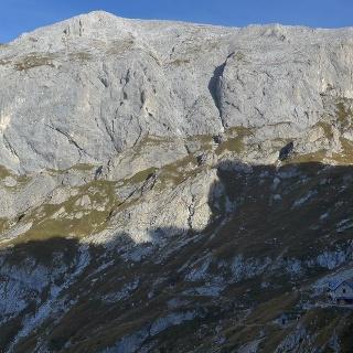 Monte Peralba/Hochweißstein, rechts unten Das Rif. R. F. Calvi