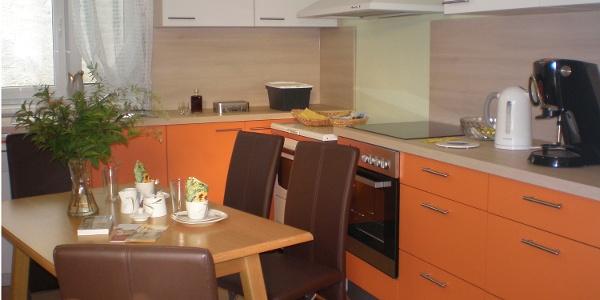 Küche (Copyright: Fam. Weinmann)