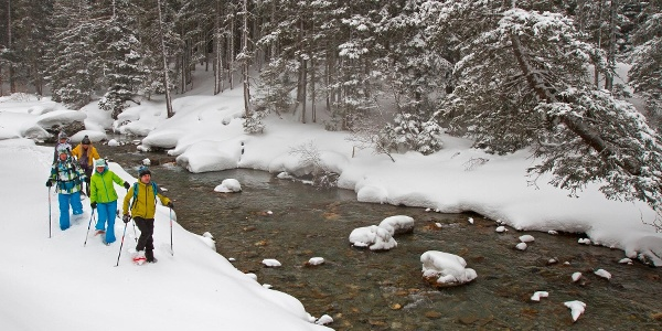 Schneeschuhtour im Obertal