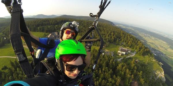 Tandemflug Flugschule Fly Hohe Wand