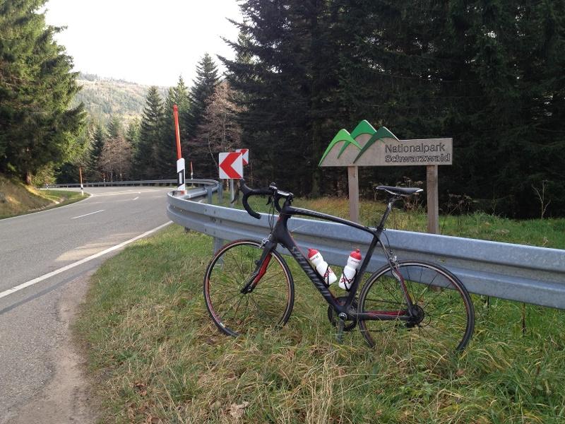 Freudenstadt Hotel Teuchelwald Rennrad Tour 1 - Durch den Nationalpark (Loßburg RR Tour3)