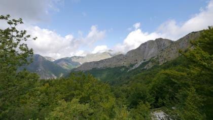Blick auf den Monte Corchia