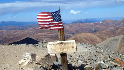 Grays Peak 4350m