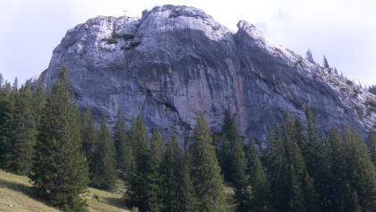 Taubenstein Westwand, rechts der Südgrat