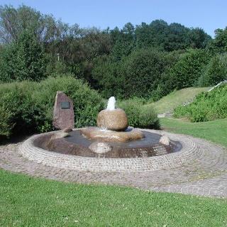 Ausgangspunkt Wilhelm-Ganzhorn-Brunnen